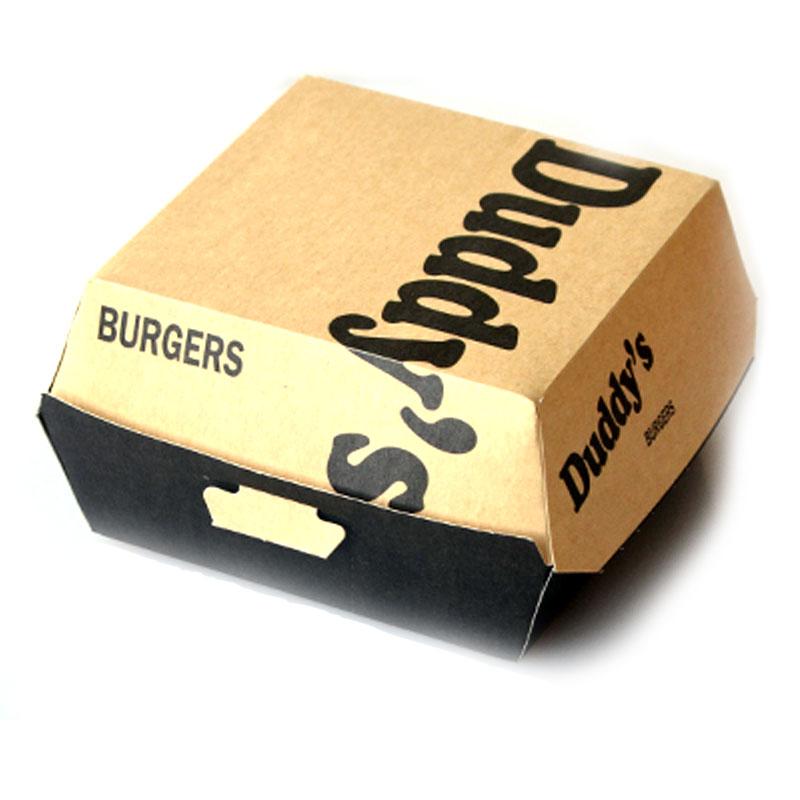 boite burger personnalisé