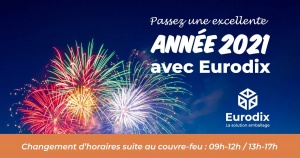 eurodix vous souhaite une bonne année